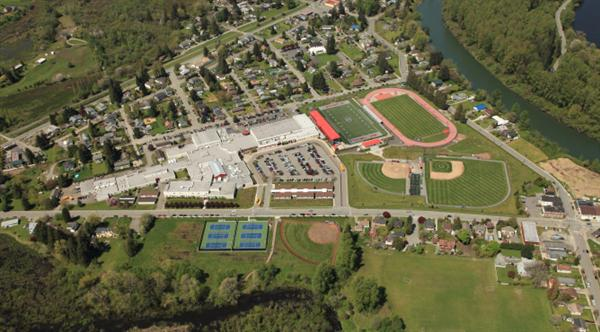 Mount Si High School Current Aerial