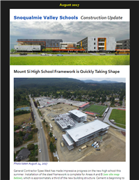 MSHS Construction Update - August 2017