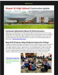 MSHS Construction Update March 2017