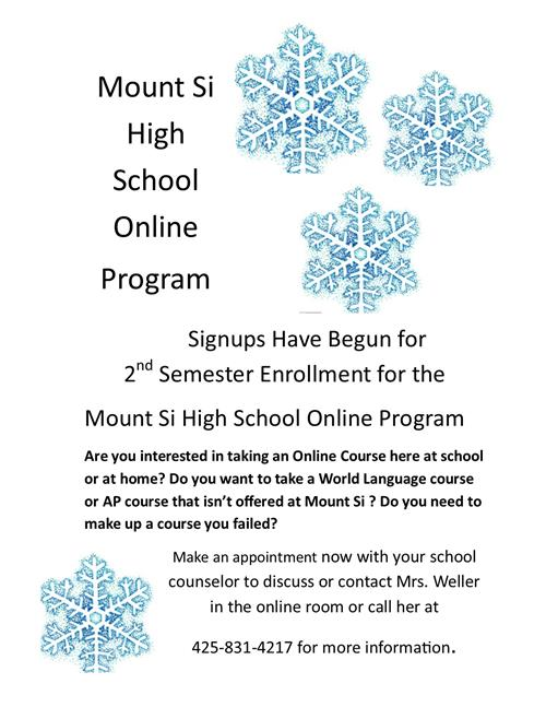 Interested in an Online Course? Enrollment is now open