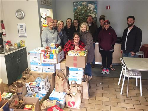 SES Food Drive delivery - 1