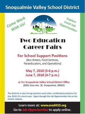 Classified Career Fairs Flyer