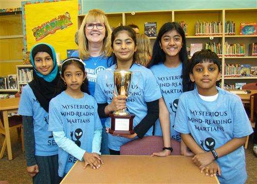 The winning SES reading team
