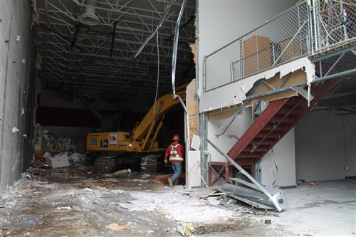 MSHS Aux Gym demolition 2