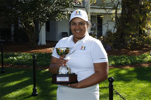Kasey Maralack earn 2nd place in National Golf competition