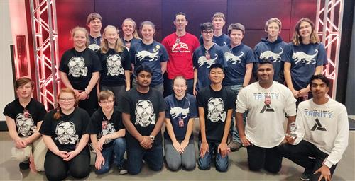 MSHS Robotic Club competing at League Championship