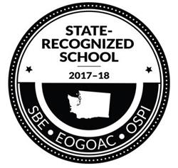 State-Recoonized School 2017-18 award logo