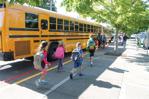 A successful first day of school in Snoqualmie Valley.