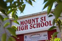 Mount Si High School Sign