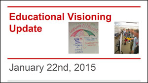 Visioning Presentation from Jan. 22, 2015