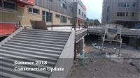 August 2018 Construction Update