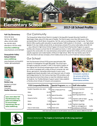 FCES 2017-18 School Profile
