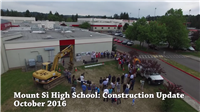Mt Si High School Construction Update Fall 2016