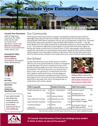 CVES School Profile 2016-17