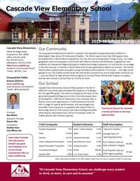 CVEs School Profile