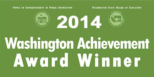 Washington Achievement Award Winner