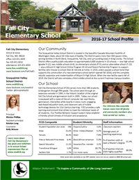 FCES School Profile 2016-17